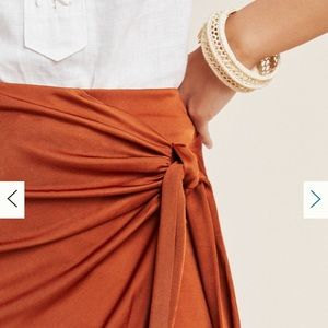 Anthropologie Skirts - NWT Anthropologie Petra Tied Skirt XL